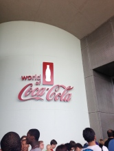 a whole WORLD of Coke = heaven