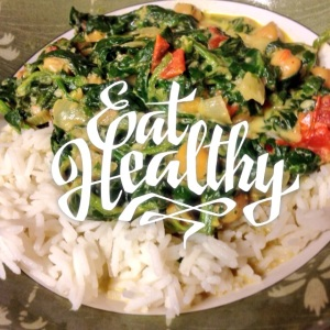 Eat Healthy Curry Chickpea